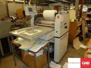 Matrix  MX-530 P laminator  Laminating and coating