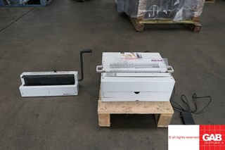 Renz DTP 340 & WBS 340  Wire-O and Spiral Binding