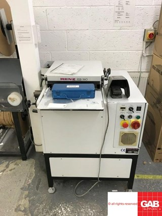Renz RSB 360 wiro binding machine