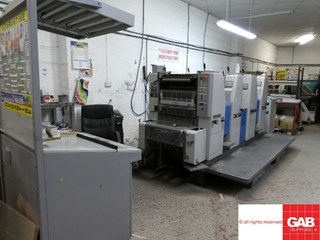 Ryobi 520 单张纸胶印机