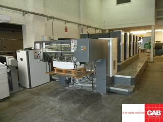 Shinohara 75 VH five colour offset  Sheet Fed