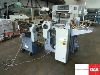 Stahl T36 4-4 pharmaceutical folder Folding machines