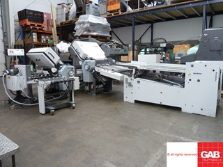 Heidelberg Stahl TD 66 4-4-1 paper folding machine  折页机
