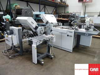StahlFolder TI 52 4-4-1 paper folder  Folding machines