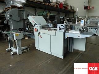 Stahl TI52/4-FI52 paper folding machine Folding machines