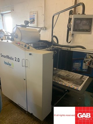 Tauler SmartMatic 2.0 MACHINES A PELLICULER ET CONTRE-COLLER