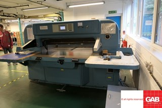Wohlenberg 132 Guillotines/Cutters