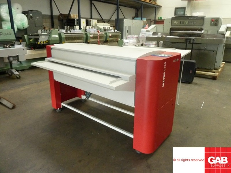 Show details for Agfa Azura C125 plate gumming & washing unit