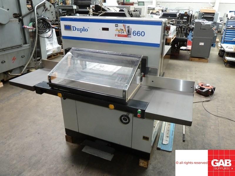 Show details for Duplo 660 PFI guillotine