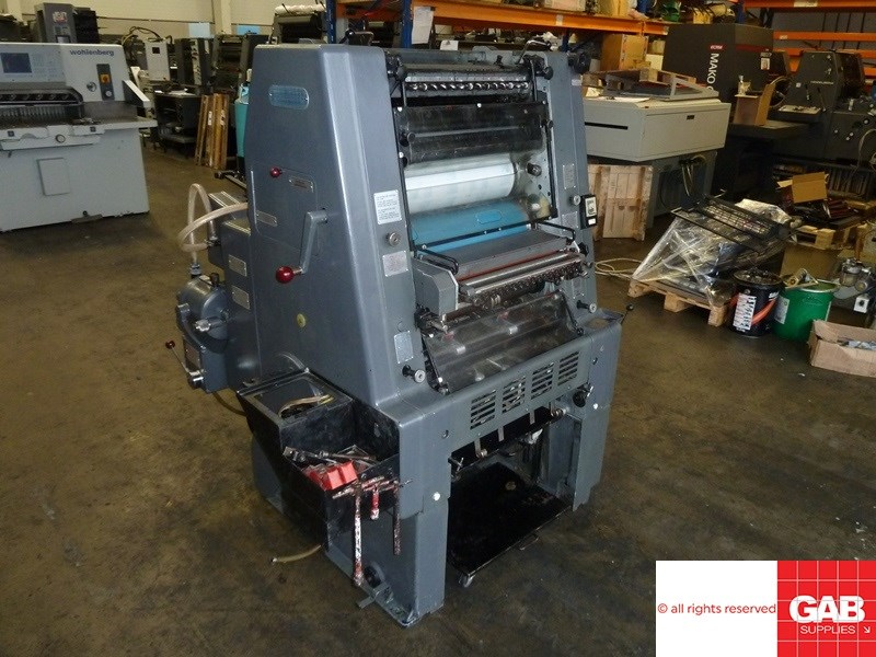 Heidelberg GTO 46 offset with Numbering