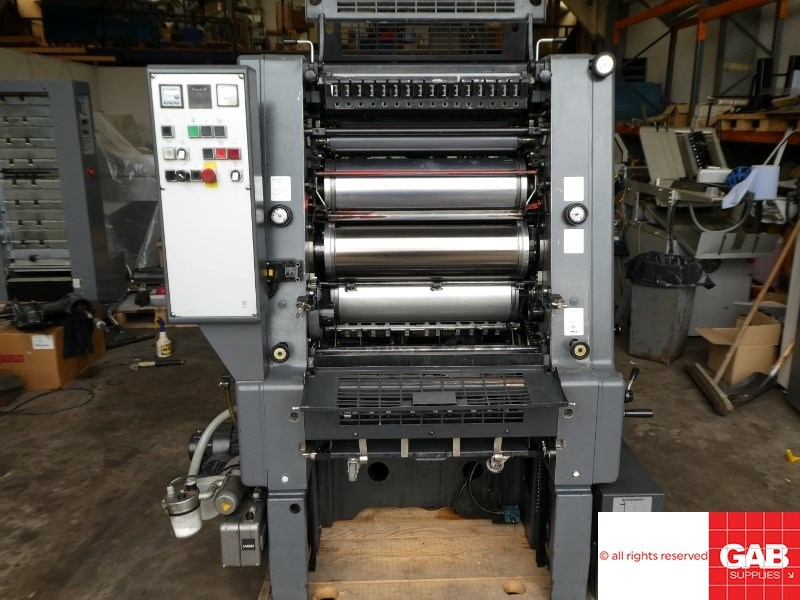 Show details for Heidelberg GTO 52-1 single colour offset