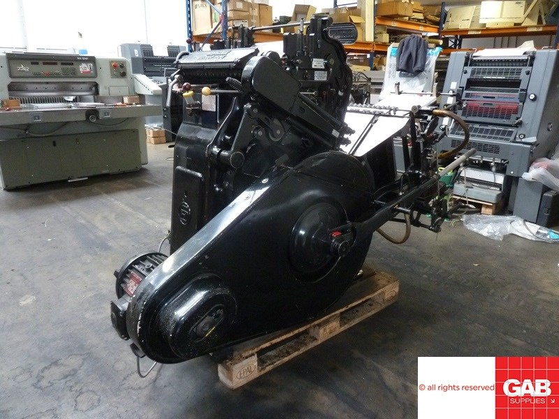 Heidelberg GT Platen for cutting & creasing