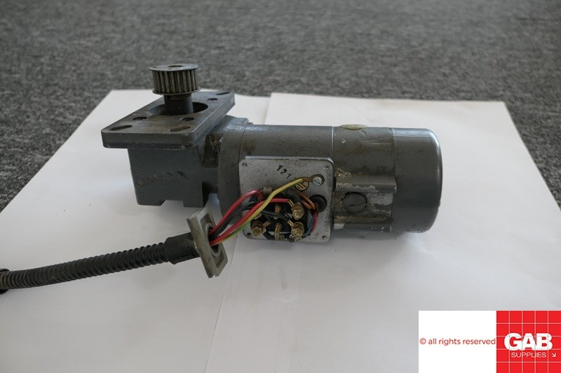Heidelberg MO Dampening Motor with Gearbox