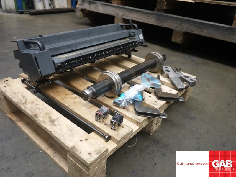 Heidelberg Numbering + Perforating unit