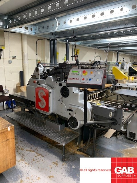 Show details for Heidelberg SB converted to Die Cutter
