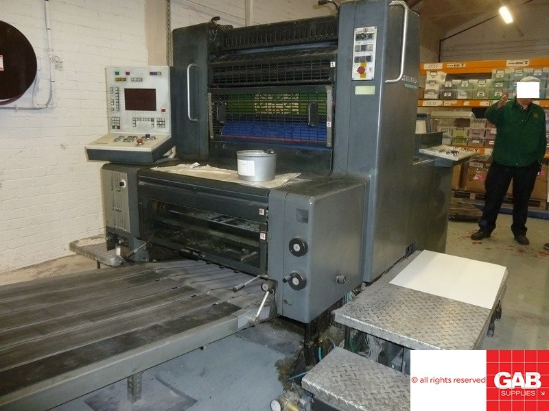 Show details for Heidelberg SM 74-1 single colour offset