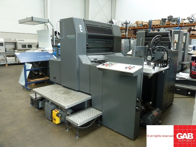 Heidelberg SM 74-1 single colour offset