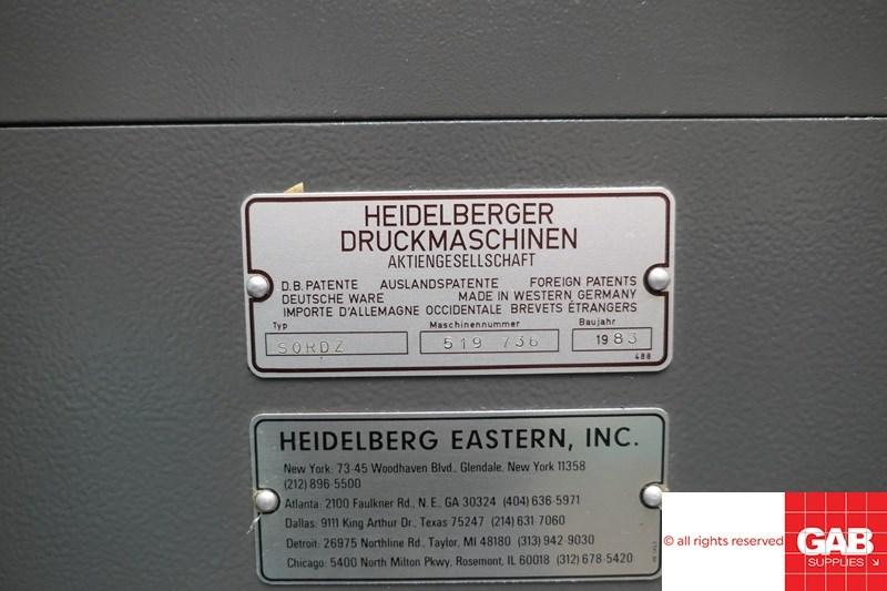 Heidelberg SORD/Z