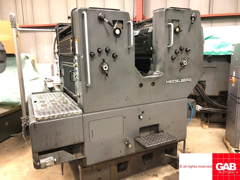 Show details for Heidelberg SORM/Z two colour offset
