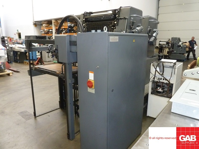Heidelberg SORM/Z two colour offset