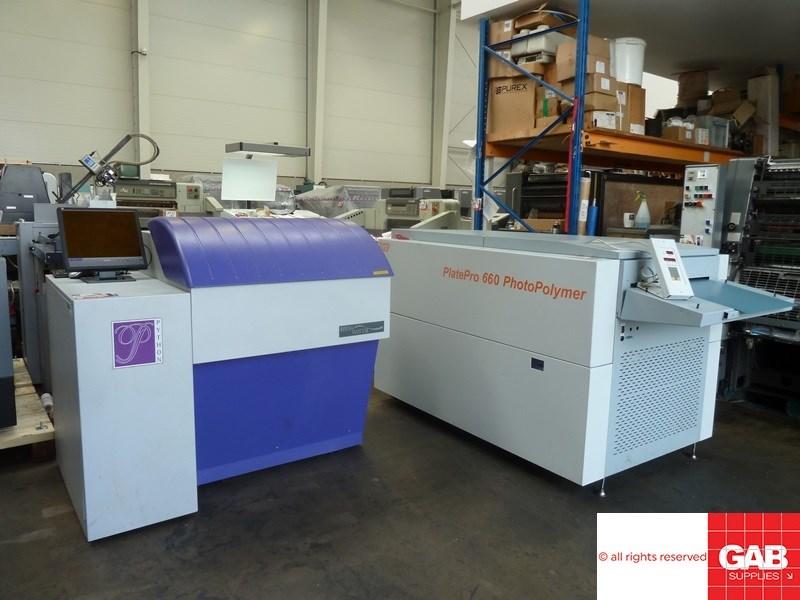 Highwater Python 74 CTP system - 4 up violet ctp