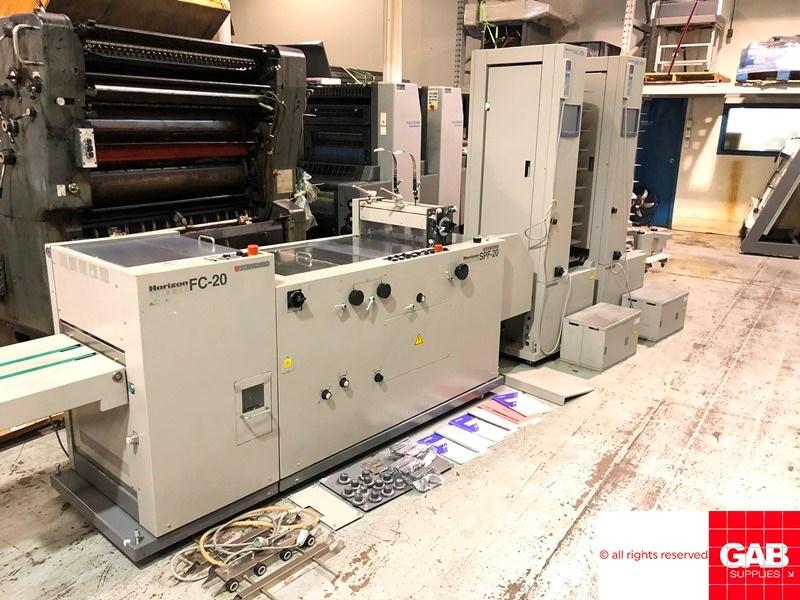 Show details for Horizon VAC-100a/VAC-100m/SPF-20/FC-20
