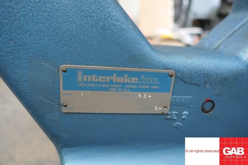 Interlake Model P Multi Head Book Stitcher