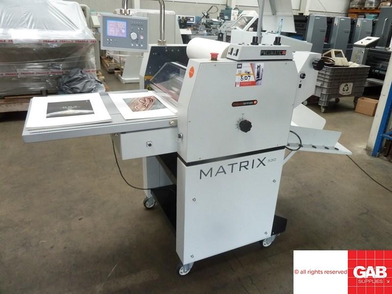 Matrix MX-530P pneumatic laminating machine
