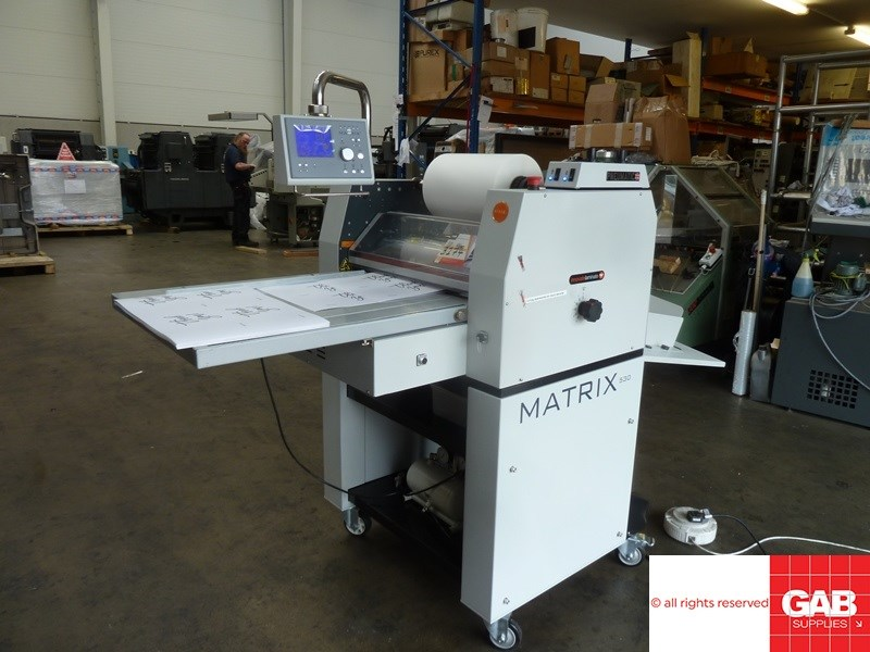 Show details for Matrix  MX-530 P laminator