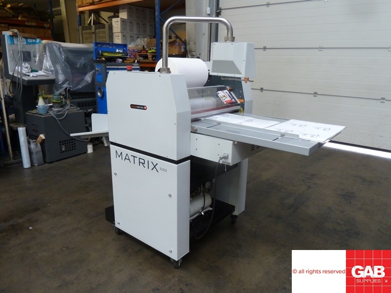 Matrix  MX-530 P laminator