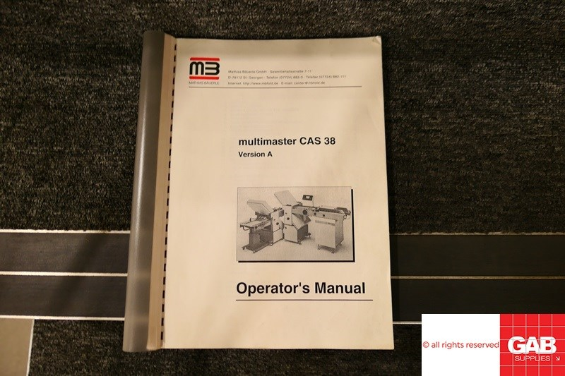 MB Bäuerle Multimaster CAS 38