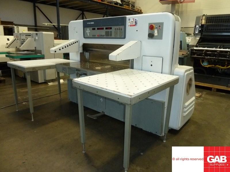 Show details for Polar 115 EMC paper cutting machine