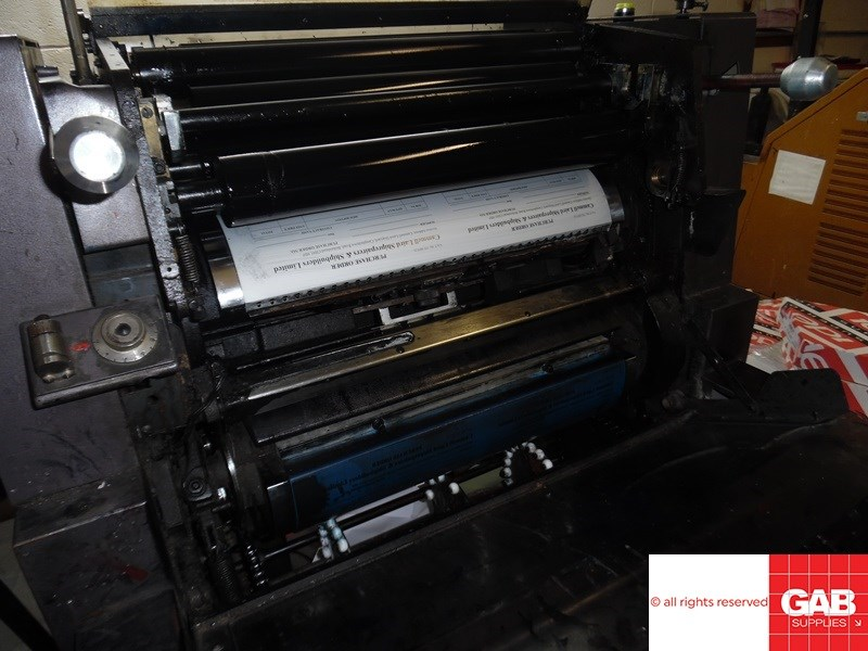 Rotaprint Alpha 35NP one colour offset