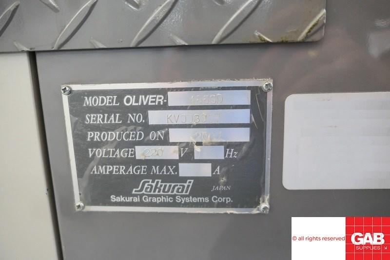 Sakurai Oliver 466 SD-C