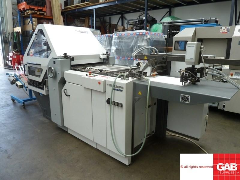 Heidelberg Stahlfolder KI 55/4-KTL paper folder