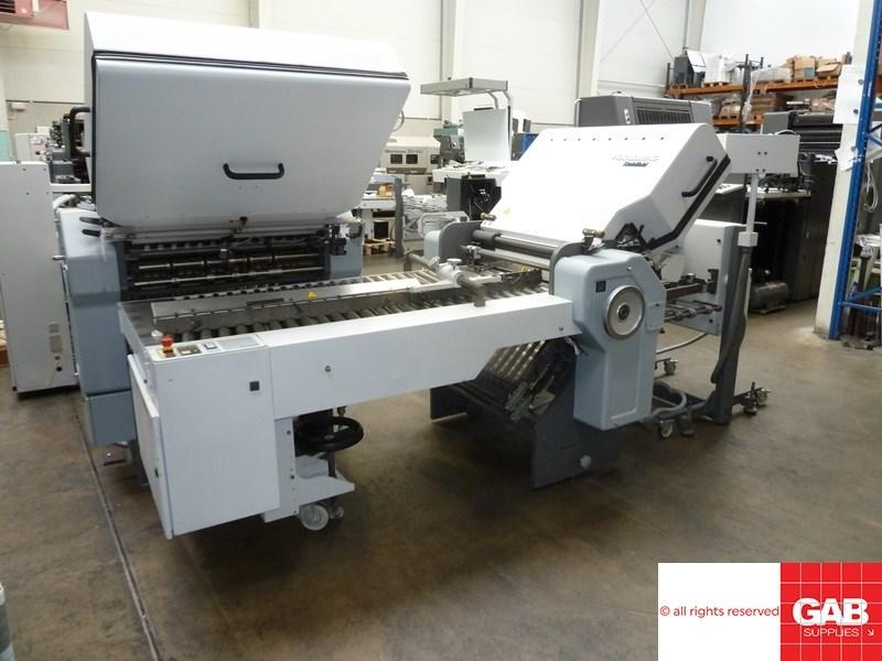 Heidelberg Stahl TD 66 4-4-1 paper folding machine