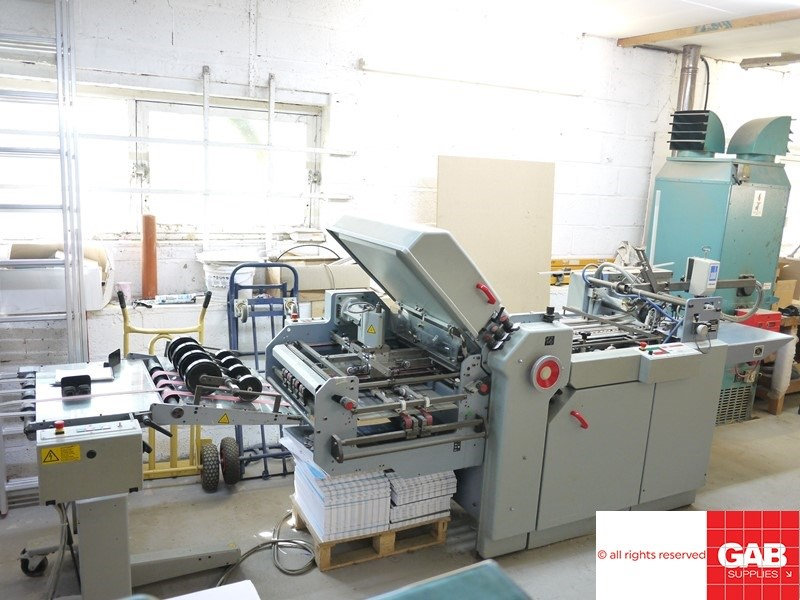 Show details for Stahl TI52/4-FI52 paper folding machine