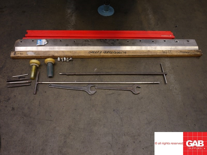Wohlenberg 115 guillotine