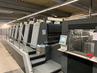 HD  XL 106 - 5 + LE - UV Machines offset à feuilles