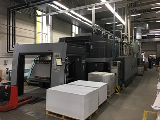 Heidelberg SM XL 145-4+L Sheet Fed