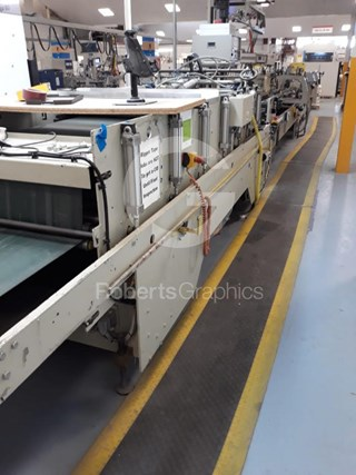 JAGENBERG   DIANA 105-2 Carton /Folder Gluers