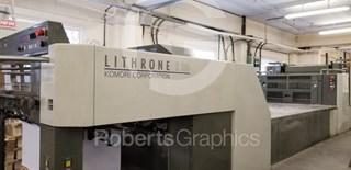 KOMORI   LITHRONE LS 529 C Gebrauchte Bogenoffsetmaschinen