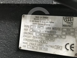 MEGTEC   DLC 2100 Accesorios de rotativas