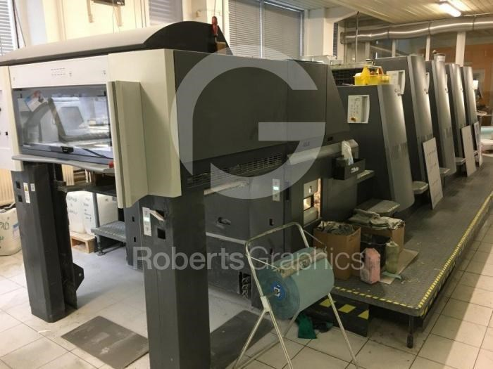 Show details for HEIDELBERG   SPEEDMASTER CD 74 4 L - C