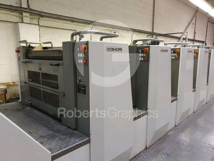 Show details for KOMORI   LITHRONE LS 626 EM