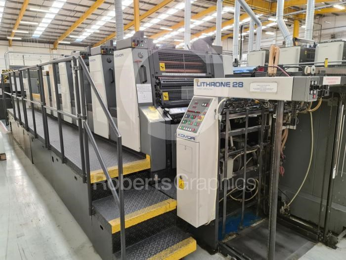 Show details for KOMORI   LITHRONE L528 C