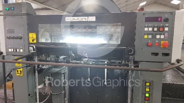 Show details for KOMORI   LITHRONE NL 528 C