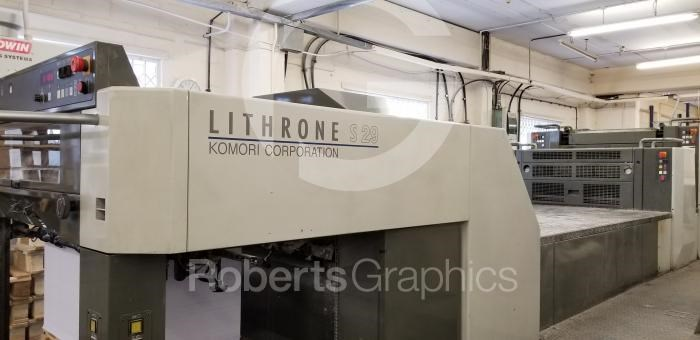 Show details for KOMORI   LITHRONE LS 529 C