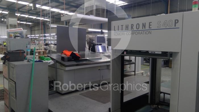 Show details for KOMORI   LITHRONE LS 1040P