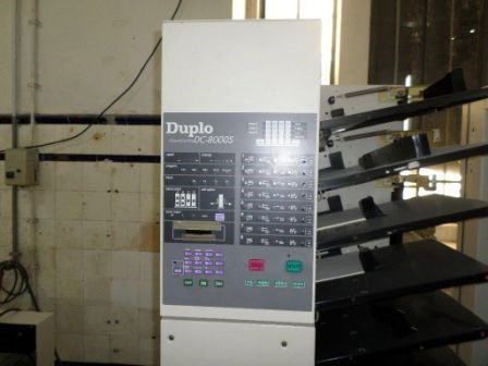 Show details for Duplo DC8000 S